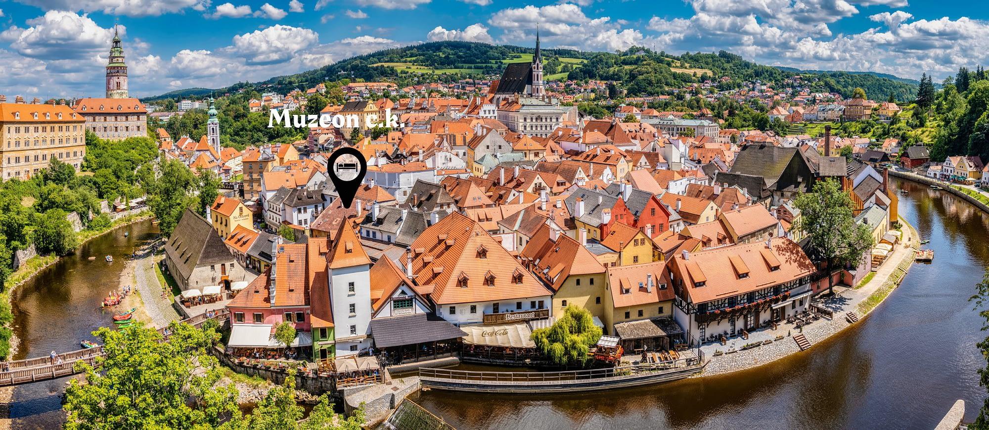 Český Krumlov - levné ubytování v centru města
